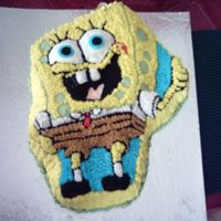 My Sponge Bob Cake Maked in my 5th cake class.