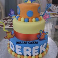 Backyardigans Cake Ii
