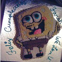 Sponge Bob Cake Best Friend Birthday