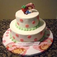 Strawberry Shortcake French vanilla with buttercream dream