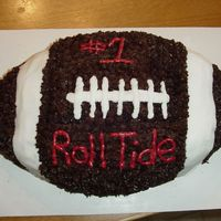 Alabama, Roll Tide I made this cake for my best friends little boy on his birthday.