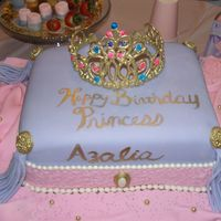 Princess Pillow I made this cake for my niece's 6th birthday. Boy was it a hit with all the girls