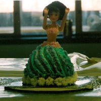 My 1St Cake!!! barbie doll cake