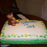 Welcome Baby Jax Baby Shower for my Nephew it was monkey Themed