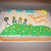 2 Makes 4 Adoption Cake My Best Friend Adopted two beautiful girls this year and we had a celebration once it was finalized. The cake theme is taken from 1st...