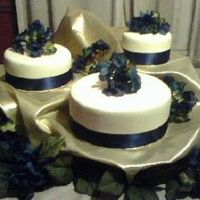 Navy And Ivory Wedding