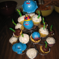 Dragon Quest Cup Cakes