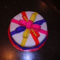 First Cake  This is the first cake I ever made. I used fondant from Wilton. Does anyone know how long you should let it sit to harden? A lot of my...