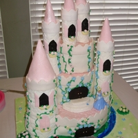 Princess Castle For my great niece. What a beautiful princess she is everyday! :)
