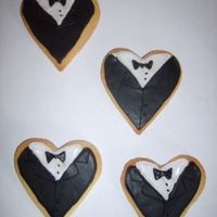 Father's Day Tuxedo Cookies