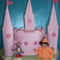 Dora & Boots Fairy Castle Adventure!