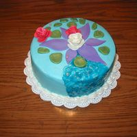 Sylvia's Cake I saw this cake by fellow CCer rimmis (hers is beautiful) and knew I would have to make it for my friend who is an artist and teacher. It...