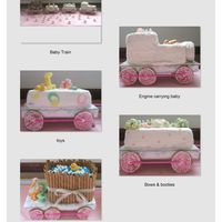 Baby Shower Train - June Bug Express