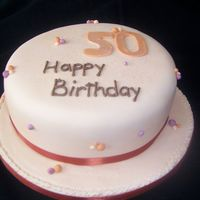 Fiftieth Yet another Vanilla sponge cake... Would be nice to do something different one of these days.lol!