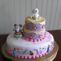 Toopy And Binoo Toopy and Binoo Birthday party cake
