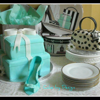 Tiffany Boxes And Leopard Purse