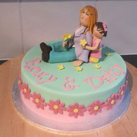 Roxy & Daisy I made this cake for my sister in laws 30th birthday and her daughters 1st birthday.