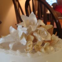 Gumpaste Flowers 50th wedding anniversary