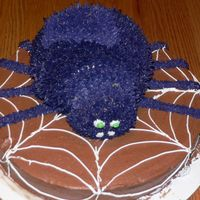 Spider Cake  One of my most favorite cakes to make and my teenage kids still love it! I did this one for a party tonight for my daughter! Idea came from...