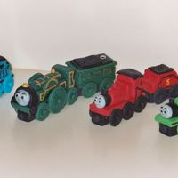 Thomas Trains   Figures all made from fondant.