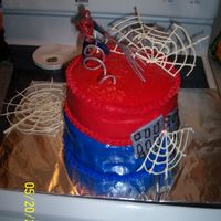 Cakes_----Birthday_Parties_5-2.jpg This was made my friends son's 3rd birthday. My first MMF experience.He thought it was the greatest thing. Webs were hand drawn using...