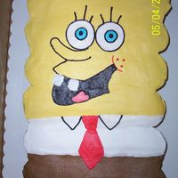Sponge Bob This Sponge Bob is made out of cupcakes. This was the first time I did a cupcake cake.