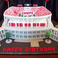 Arrowhead Football Stadium Kansas City Front Here's a view from the front.