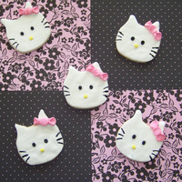 Hello Kitty Cookies sugar cookies with fondant decoration