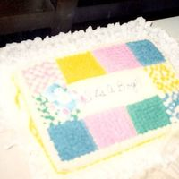 Baby Shower Cake Quilt