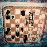 Chess Cake This was made many years ago, would do things a little different now