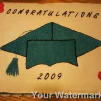 2009 Preschool Grad Cake I made this for my preschool classes graduation this year