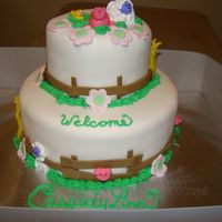 Farm Yard Shower This is for a customer who orders FUN cakes-- Nothing ever ordinary---
