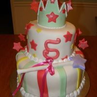 Princess Cake A little like one of the pink cake box cakes-- I have a customer who adores them-- and wants to replicate everything :)