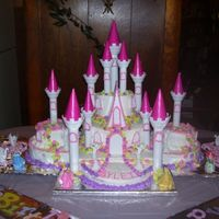My Granddaughters 2Nd Birthday Cake