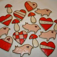 Valentine's Cookies Made this quick just for the fun of it. NFS and tara1970 icing. First time I've done this kind of cookie....learned a lot...like I...