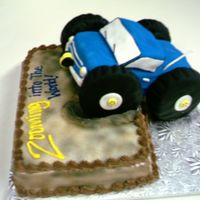 4 X 4 Truck I made this cake for a couple in our church, as their baby shower cake. The nursery was done in 4x4's. Fun to make.