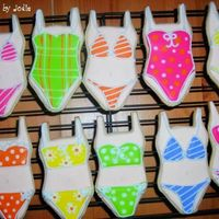 Bikinis... Some favors I did for a group heading to spring break. NF with royal