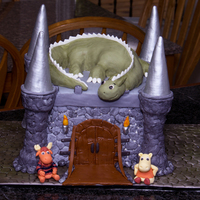 Backyardigans Castle Hi all, this was a last minute cake done for my son's birthday (Maximus took so long that I was just too tired to do the detail I...