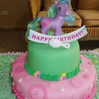 My Little Pony Marble and chocolate cake with MMF accents. Thanks for looking and leave your comment.