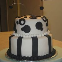 Black And White All Fondant.