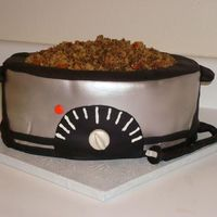 The Sweeter Side Of Chili This cake was for a chili cook-off. Instead of making chili, I made this cake. It was a spice cake with a bavarian cream filling. The &quot...