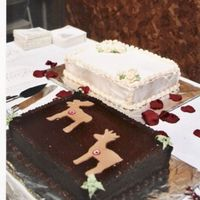 Grooms Cake These are a few cakes I made for a friend's wedding reception last year. She had a little wedding cake for photos but wanted a few...