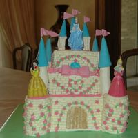 Princess Castle  I did this cake for my daughter's 4th birthday!! I want to thank everybody at CC for all their ideas and specially brendaane whose...