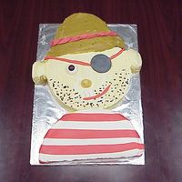 Pirate   I found the cake and instructions on the Betty Crocker website. Very cute and easy to make! Enjoy