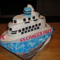 "Cruise Ship   Cruise Ship made for ""Relay for Life"" 2006 - Theme: ""Cancer never takes a Holiday"""