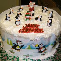 Our Christmas Cake (2006) I always make several cakes at Christmas and this was our one
