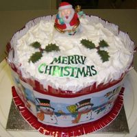 Christmas Cake For My Aunt & Uncle (2006) Christmas cake made for my special Aunt & Uncle