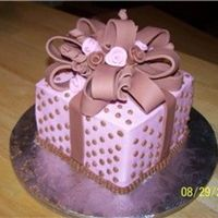 Pink & Brown Gift Box