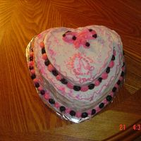 Double Decker Heart Cake I am 8 years old. I decorated this cake at my mom's sweet treat class with all my friends. My Mom is a cake decorating teacher. I love...