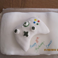 "X-Box Console Cake My 11 year son wanted an x-box for his birthday...he never said he wanted the ""real"" one..."